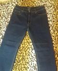 Куртка мужская зимняя короткая с капюшоном на меху, новые джинсы размер 50-52