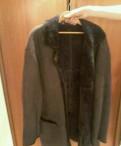 Мужские куртки с мехом волка, дубленка для мужчин