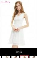 Классические брюки и туфли, воздушное платье