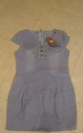 Джинсовое платье 46р, штаны для беременных зима