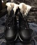 Босоножки на тракторной подошве закрытые, ботинки женские зимние