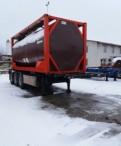 Полуприцеп контейнеровоз Van hool 1998г с танк кон