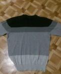 Пуловер, футболка с вырезом по бокам мужская, Сясьстрой