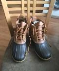 L.L. Bean ботинки мужские, лягушки, США, обувь мужская 45 размер