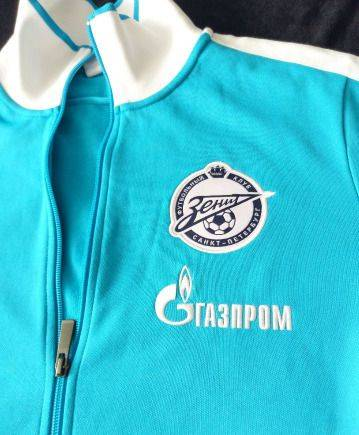 Олимпийка Зенит Газпром Nike, мужская одежда интернет магазин европа