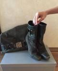 Сапоги Gianmarco Lorenzi и сумка, обувь фирмы рикер зимняя женская