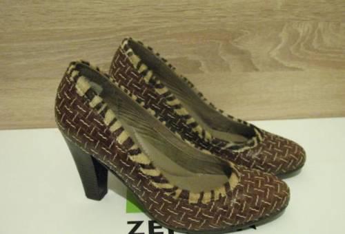 Reebok easytone кроссовки женские, туфли кожаные
