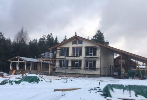 Дом 200 м² на участке 18 сот