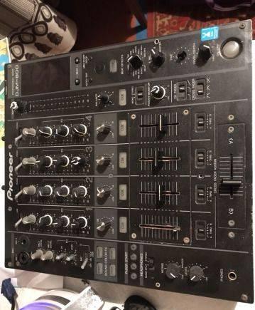Pioneer DJM-800 DJ mixer. Диджейский пульт
