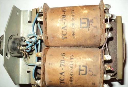 Трансформатор тса-70-6