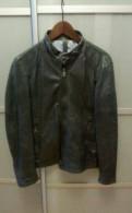 Кожаная куртка Massimo Dutti, зимние куртки мужские каталог с ценами