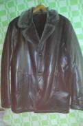 Дубленка р-р 52-54, куртка мужская утепленная джет