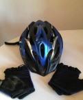 Велосипедный шлем и печатки