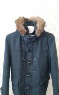 Зимние кожаные куртки для мужчин каляев, пальто мужское Zara