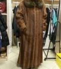 Женская одежда больших размеров roamans, шуба из натурального меха б/у сурок