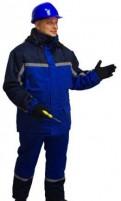 Куртки из экокожи мужские зимние, костюм рабочий утепленный