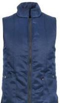 Бренды мужской одежды, жилет утепленный универсальный цвет синий