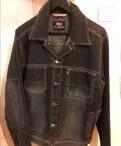Мужская джинсовая куртка, новая, milton куртки для мужчин