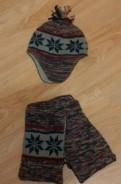 Комплект шапка + шарф на весну sela