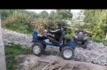 Мотоблок-трактор