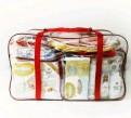 Прозрачная сумка в роддом без наполнения