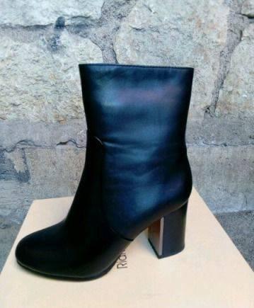 f4302152a Обувь на тяжелом каблуке, женские ботинки