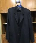 Китель форменный черно-синий, мужские свитера ostin