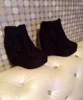 Ботильоны-ботинки, ботинки женские sorel caribou black\/stone