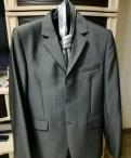 Мужские лонгсливы брендовые, костюм (серый)