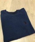 Пуловер, мужской свитер на девушке