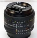 Объектив Nikon 50mm f/1. 8D AF Nikkor