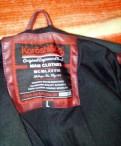 Кожаная мужская куртка, размер L, Испания, футболка ripndip купить оригинал