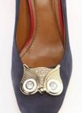 Туфли новые, элитная женская обувь на низком каблуке балдинини и фабиани купить