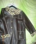 Отличная кожаная куртка р.52-54, женские платья от российских производителей