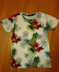 Футболка с ананасами, мужские футболки из вискозы купить