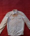 Модные зимние мужские классические куртки пальто, рубашка офицерская парадная белая. 48-4