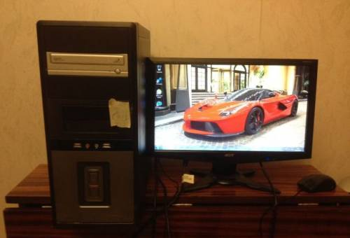 2ядра по З. зз ггц/видеокарта на 1024 мб/ монитор