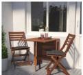 Стол книжка садовый+2 стула Applaro Ikea Финляндия