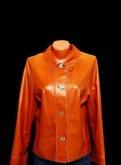 Кожаная куртка Christ Новая Оригинал Германия, вязаная одежда для девушек