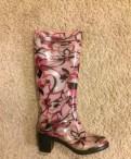 Резиновые сапоги 37 р, обувь на каблуке 41 размер, Кингисепп
