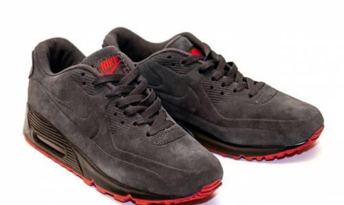 Бутсы без шнурков adidas ace16 purecontrol vs primeknit, кроссовки Nike Air Max 90 VT Серые Замша Ч. П.45