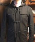 Толстовка с капюшоном nhl, куртка мужская (шерстяной дафлкот)