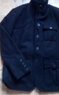 Куртка-полупальто, новая, фирма H M, 51 шерсти, мужской костюм со скидкой