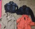Платья шифон горошек, куртки новые 42-44