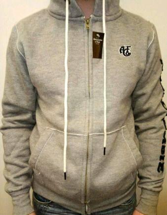 0aebd099 Мужские пиджаки с заплатками на локтях купить в интернет магазине, серая  кофта Abercrombie and Fitch