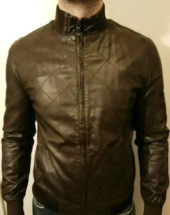 Куртка кож зам эко кожа gucci, купить мужскую толстовку на молнии