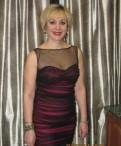 Вечернее платье на торжество, платье коктейльное