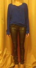 Кожаные штаны и Туника, длинные платья для молодых девушек
