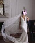 Купить платье лен россия, силуэтное свадебное платье