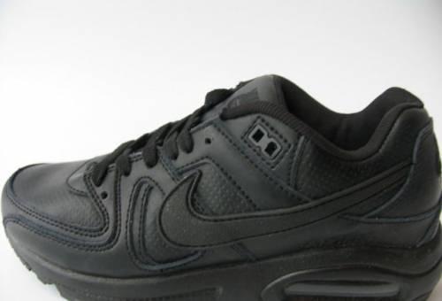 be533a14 Кроссовки Nike Air Max Skyline Кожа Черные41, купить мужские зимние ботинки  бадура